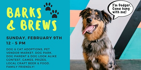 Barks & Brews at Common Space Brewery tickets