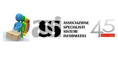 ASSI -  ASSEMBLEA ELETTIVA - 31 gennaio 2020 ore 18:00 biglietti