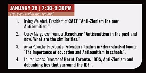 The Antisemitism Toolbox Part 3: Speakers