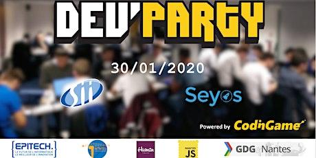 Dev'Party 2020 billets