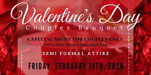 Valentine's Day Couples Banquet