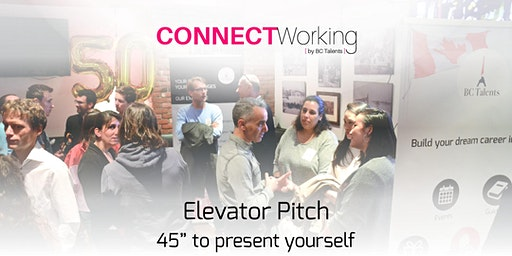 CONNECTWorking February 4th, 2020 - Elevator Pitch