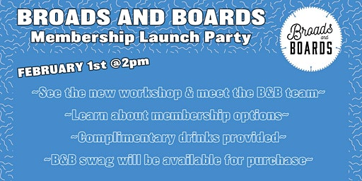 Broads and Boards Membership Launch