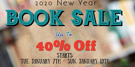 2020 New Year Book Sale tickets