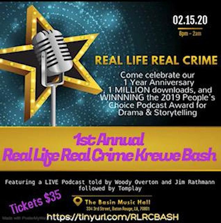 1st Annual Real Life Real Crime Krewe Bash image