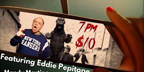Eddie Pepitone Headlines The Dojo of Comedy tickets