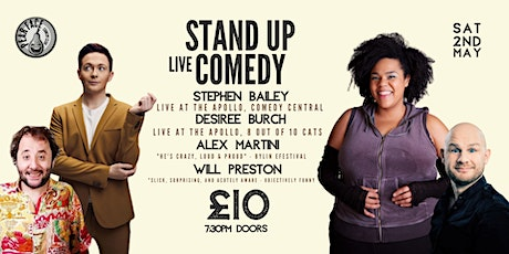 Stand up Comedy with Headliners Stephen Bailey & Desiree Burch tickets