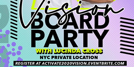 Activate Your 2020 Vision Board Party tickets
