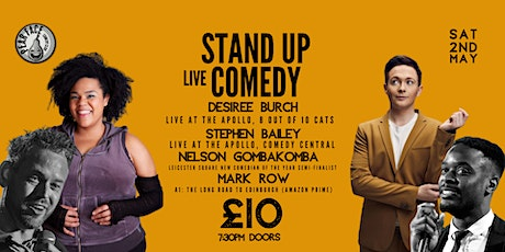 Stand up Comedy with Headliners Desiree Burch & Stephen Bailey tickets