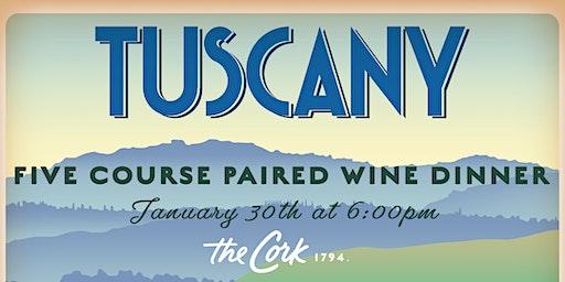 Tuscany Wine Dinner
