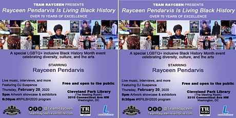 Rayceen Pendarvis Is Living Black History tickets