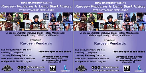 Rayceen Pendarvis Is Living Black History