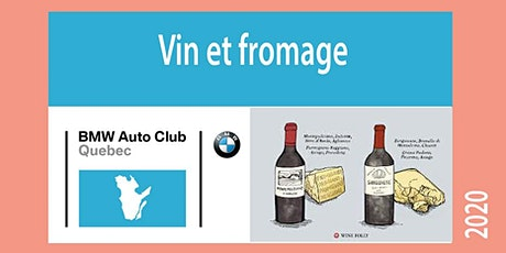 Vin et Fromage / Wine and Cheese tickets
