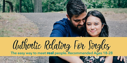 Authentic Relating for Straight Singles: Ages 28 & under (Philly)