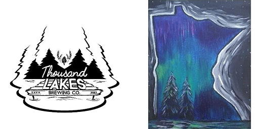 Paint and Pints at Thousand Lakes