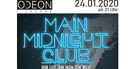 Main Midnight Club Vol 12 - ODEON - Ü30 Tickets
