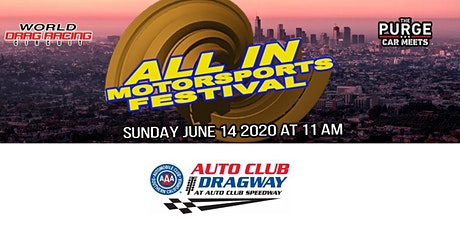 All In Motorsports Festival West Coast tickets