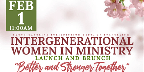 Intergenerational Women in Ministry Launch and Brunch tickets
