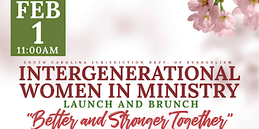Intergenerational Women in Ministry Launch and Brunch