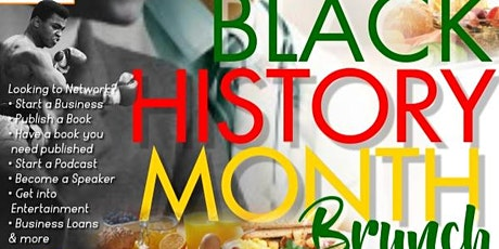 BLACK HISTORY MONTH NETWORKING BRUNCH tickets