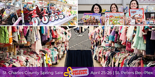 JBF St. Charles County Spring Sale 2020 - FREE ADMISSION PASSES