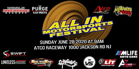 All In Motorsports Festival (Atco NJ) tickets