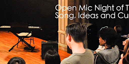 Open Mic Night of Theatre, Song, Ideas, and Current Events 1/29 RSVP!