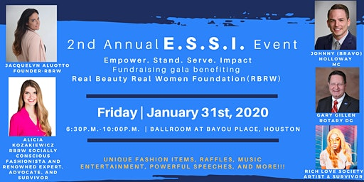 2nd annual E.S.S.I. gala benefiting RBRW Foundation