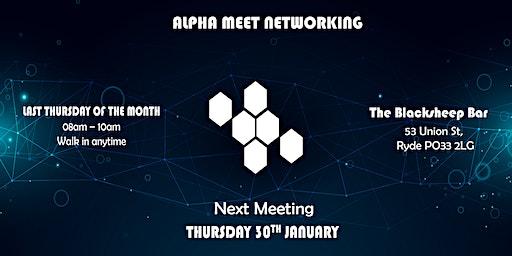 Alpha Meet Networking #1