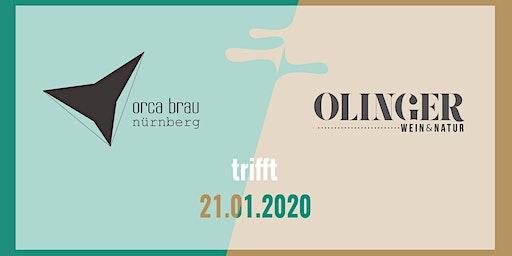 Orca Brau trifft Olingerwein (inkl. Tasting)