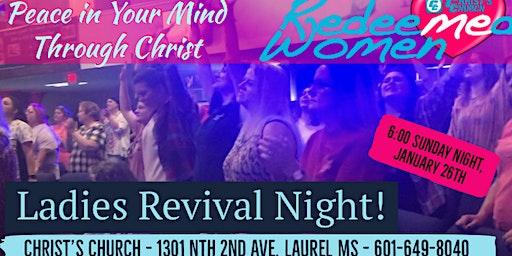 Ladies Revival & Worship Night