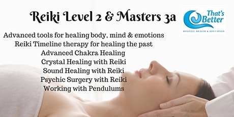 Reiki Course Level 2 & ART 3a Masters tickets