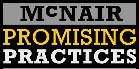 2020 McNair Promising Practices Institute (MPPI) - Digital Ad  tickets