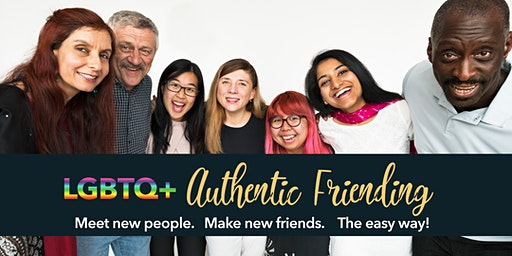LGBTQ+ Authentic Friending: Meet New People & Make New Friends (Philly)