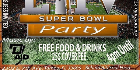 SUPER BOWL PARTY! WE'RE BACK! tickets