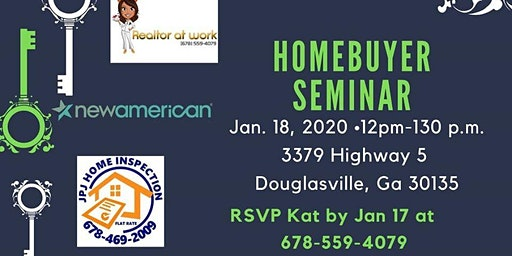 FREE Seminar - Home Buying with Kat