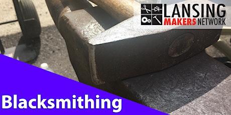 Intro to Blacksmithing tickets