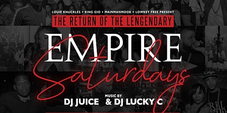 Empire Saturdays (Preview) tickets