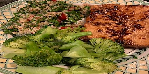 Cook. Eat. Meditate! Tofu, Tempeh, Seitan!