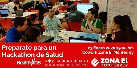 Prepárate para un Hackathon de Salud entradas