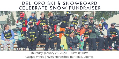 Del Oro Alpine Race Teams Celebrate Snow Fundraiser tickets