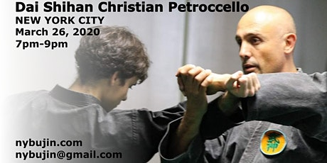 Special Class with Dai Shihan Christian Petroccello tickets