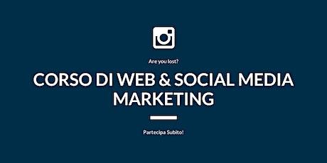 Corso di Web & Social Media Marketing biglietti