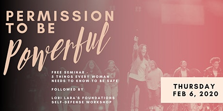 Lori Lara's Self-Defense & Empowerment Seminar  and Hands-On Workshop tickets