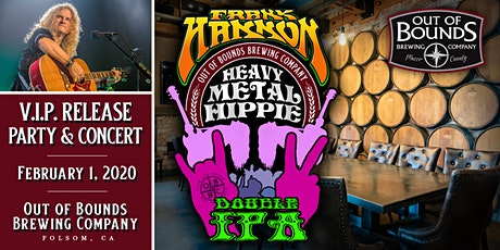 VIP Tickets for Frank Hannon Show and Heavy Metal Hippie  DIPA Beer Release tickets