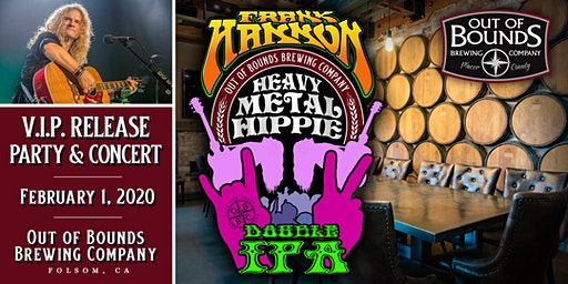VIP Tickets for Frank Hannon Show and Heavy Metal Hippie  DIPA Beer Release
