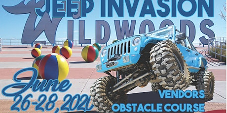 2020 NEW JERSEY JEEP INVASION - WILDWOOD tickets