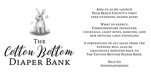The Cotton Bottom Diaper Bank Launch Party