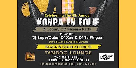 4th Annual Konpa En Folie tickets