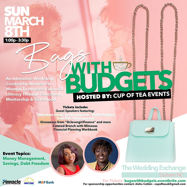 Bags with Budgets: A Financial Literacy Workshop for Women image